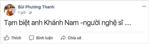Danh hài Khánh Nam qua đời ở tuổi 52  2