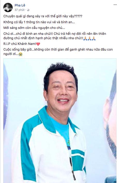 Danh hài Khánh Nam qua đời ở tuổi 52  3