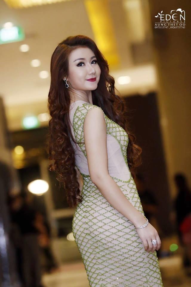 Á hậu 1 Hoa hậu Hoàn vũ Myanmar 2017 bị truất ngôi 1