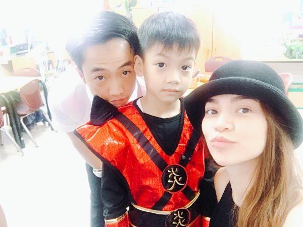 """Cường Đô la - Hồ Ngọc Hà đưa Subeo đi học, Đàm Thu Trang: """"Vâng. Anh đã sai"""" 1"""