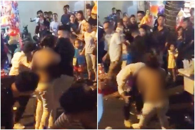Hà Nội: Triệu tập nam thanh niên lột đồ, đánh nhau với cô gái trẻ  1