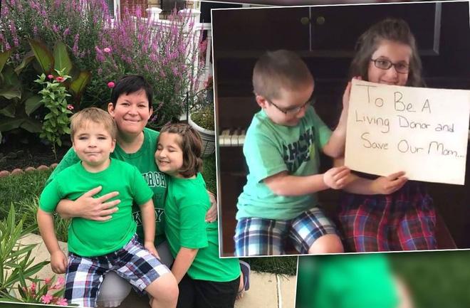 Thương mẹ bệnh nặng, 2 em nhỏ lên mạng quay video