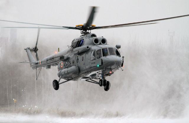 Trực thăng Ấn Độ rơi gần biên giới Trung Quốc, 7 binh sĩ thiệt mạng 1