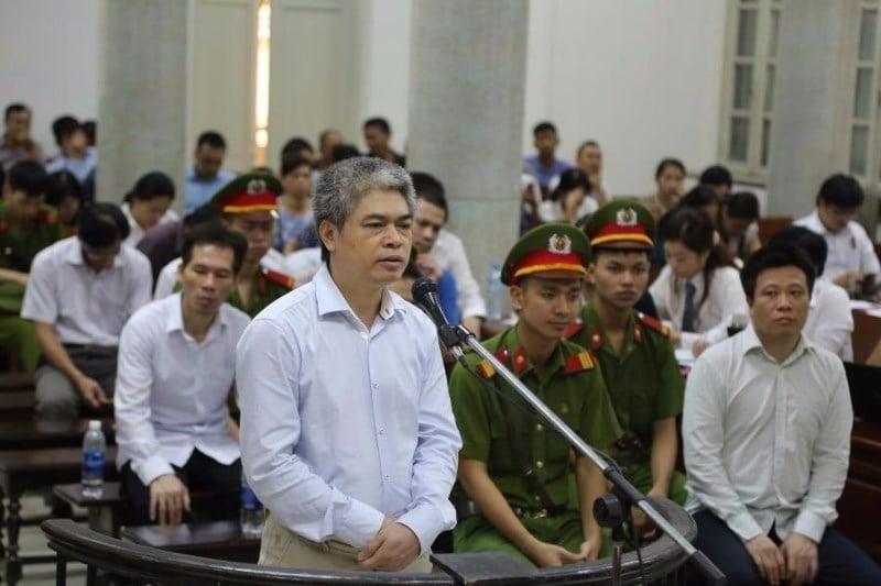 Nguyễn Xuân Sơn kháng cáo án tử hình 1