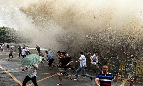 Trung Quốc: Sóng