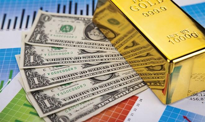 Giá vàng hôm nay 10/10/2017: Vàng có dấu hiệu tăng vọt, USD rớt giá 1