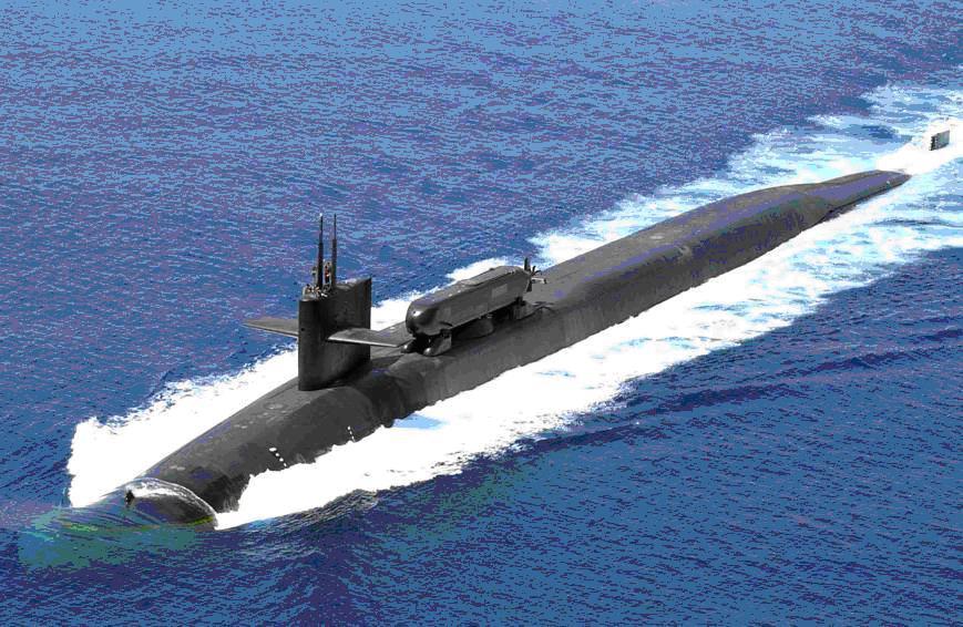 Mỹ điều tàu ngầm hạt nhân mang theo 54 tên lửa đến gần Triều Tiên 1