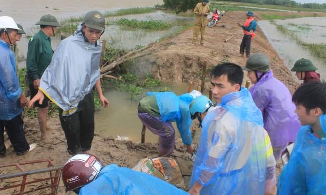 16 người chết và mất tích do mưa lũ ở Nghệ An - Thanh Hóa 1