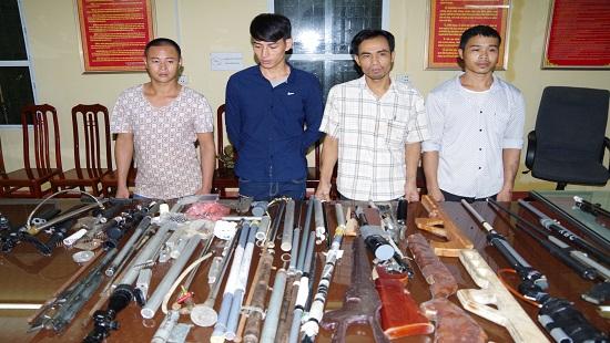 Hình ảnh Phát hiện ổ nhóm chế tạo súng ở Hà Nam số 1