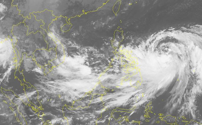 Xuất hiện áp thấp trên biển Đông có khả năng mạnh lên  1