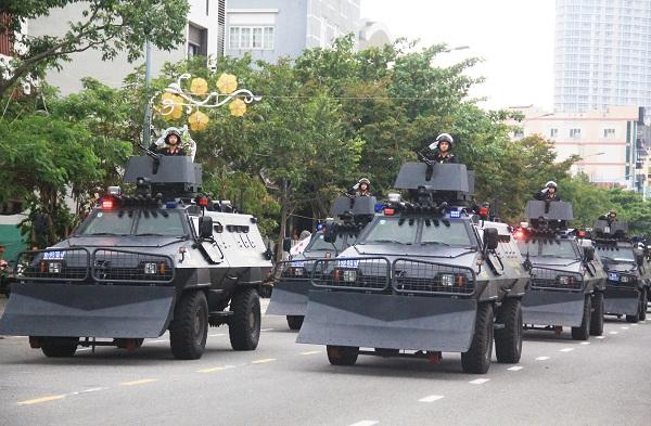Tổng duyệt lễ xuất quân và diễn tập chống khủng bố Tuần lễ Cấp cao APEC 2017 5