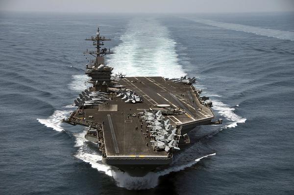 Động thái hiếm: Mỹ triển khai 2 tàu sân bay thứ hai ở bán đảo Triều Tiên 1