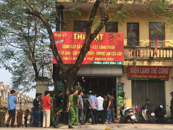 Toàn cảnh vụ dùng súng khống chế con tin ở Hà Nội 7