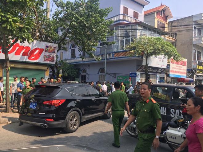 Toàn cảnh vụ dùng súng khống chế con tin ở Hà Nội 11