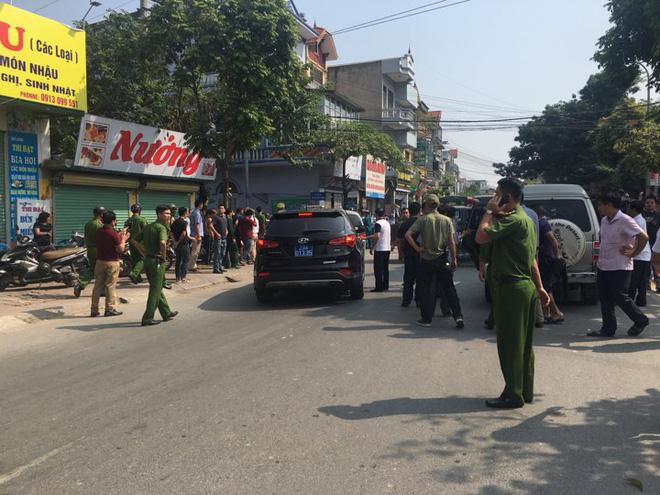 Toàn cảnh vụ dùng súng khống chế con tin ở Hà Nội 12