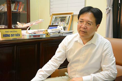 Thứ trưởng Vương Duy Biên: