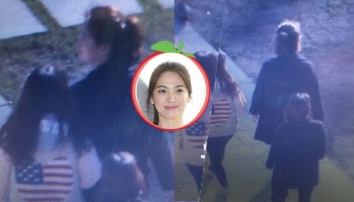 Song Hye Kyo xuất hiện giản dị tại khách sạn 7