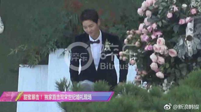 2 bố con Song Joong Ki đều xúc động rơi nước mắt trong lễ cưới 5