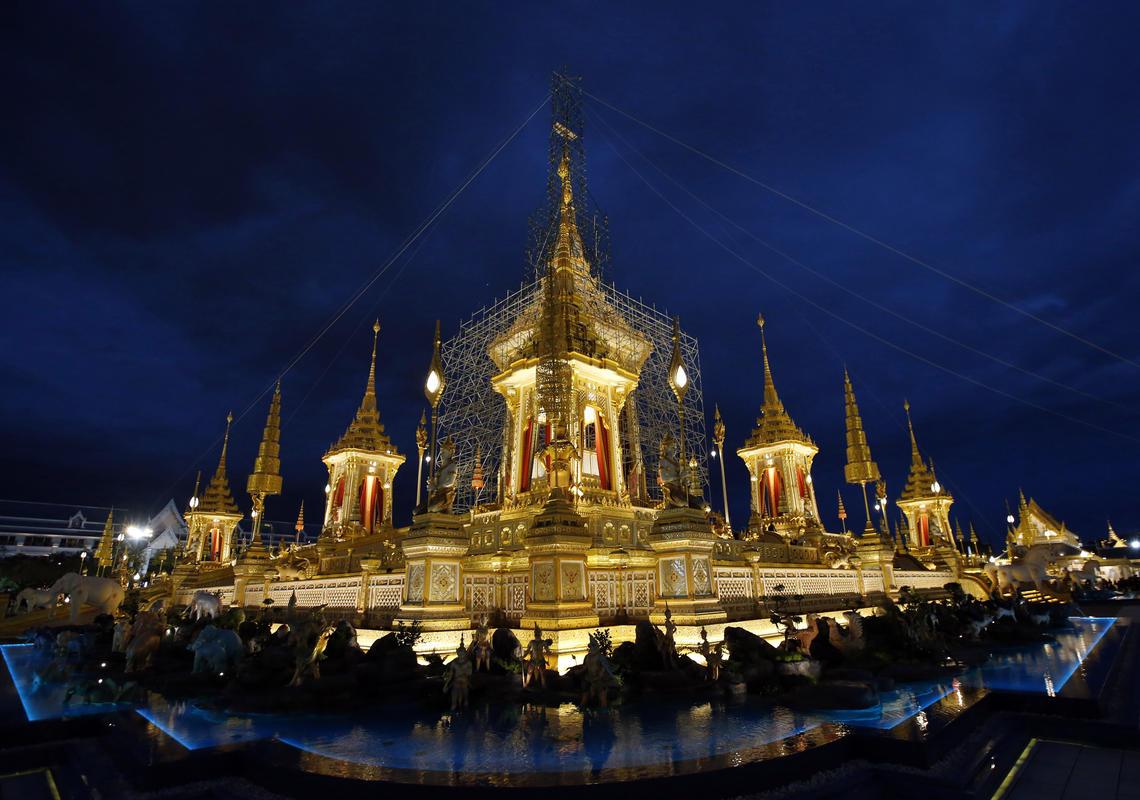 Điều ít biết về quá trình chuẩn bị Lễ tang của nhà Vua Thái Lan 1