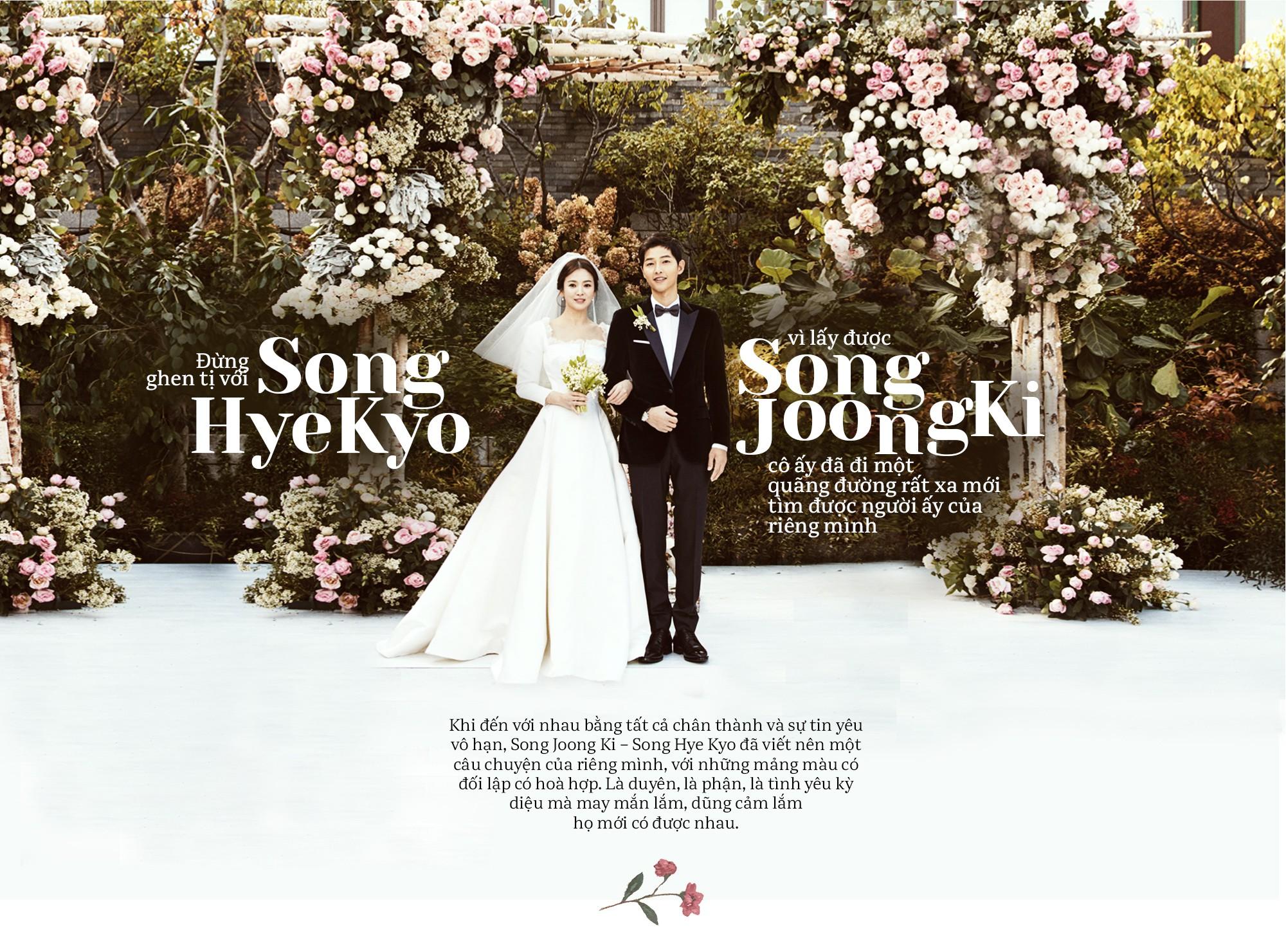 Bức tâm thư của Song Joong Ki gửi đến Song Hye Kyo ngay đám cưới khiến fan xúc động 1
