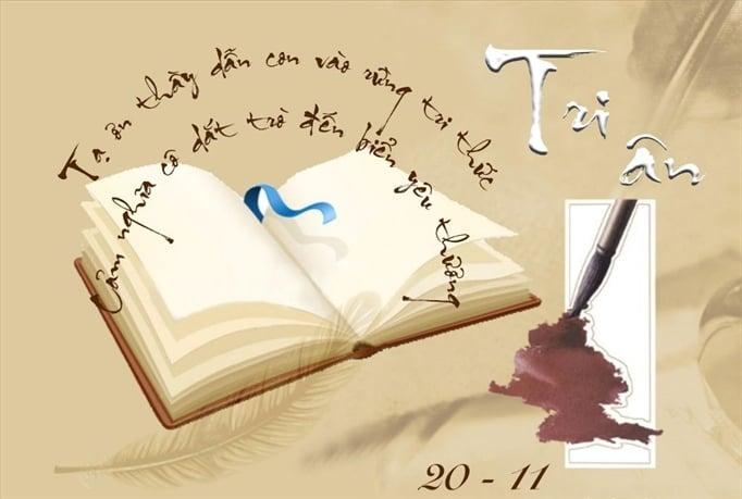 Hình ảnh Ngày 20/11: Những bài văn hay và xúc động viết về thầy cô, giáo số 3