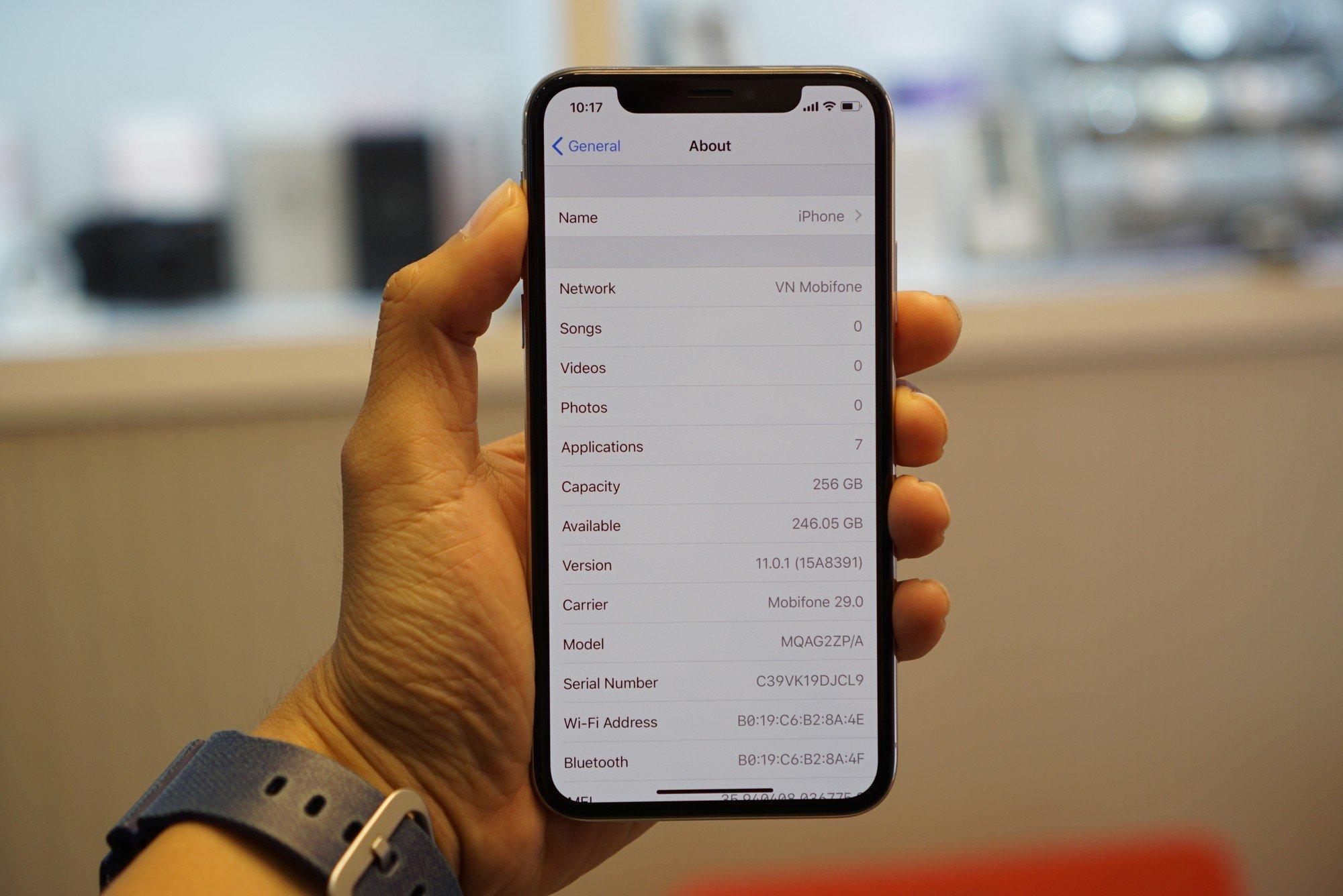 iPhone X giá 68 triệu đây rồi: Màn hình đẹp sắc sảo, thiết kế toàn diện, thao tác hoàn toàn mới 10
