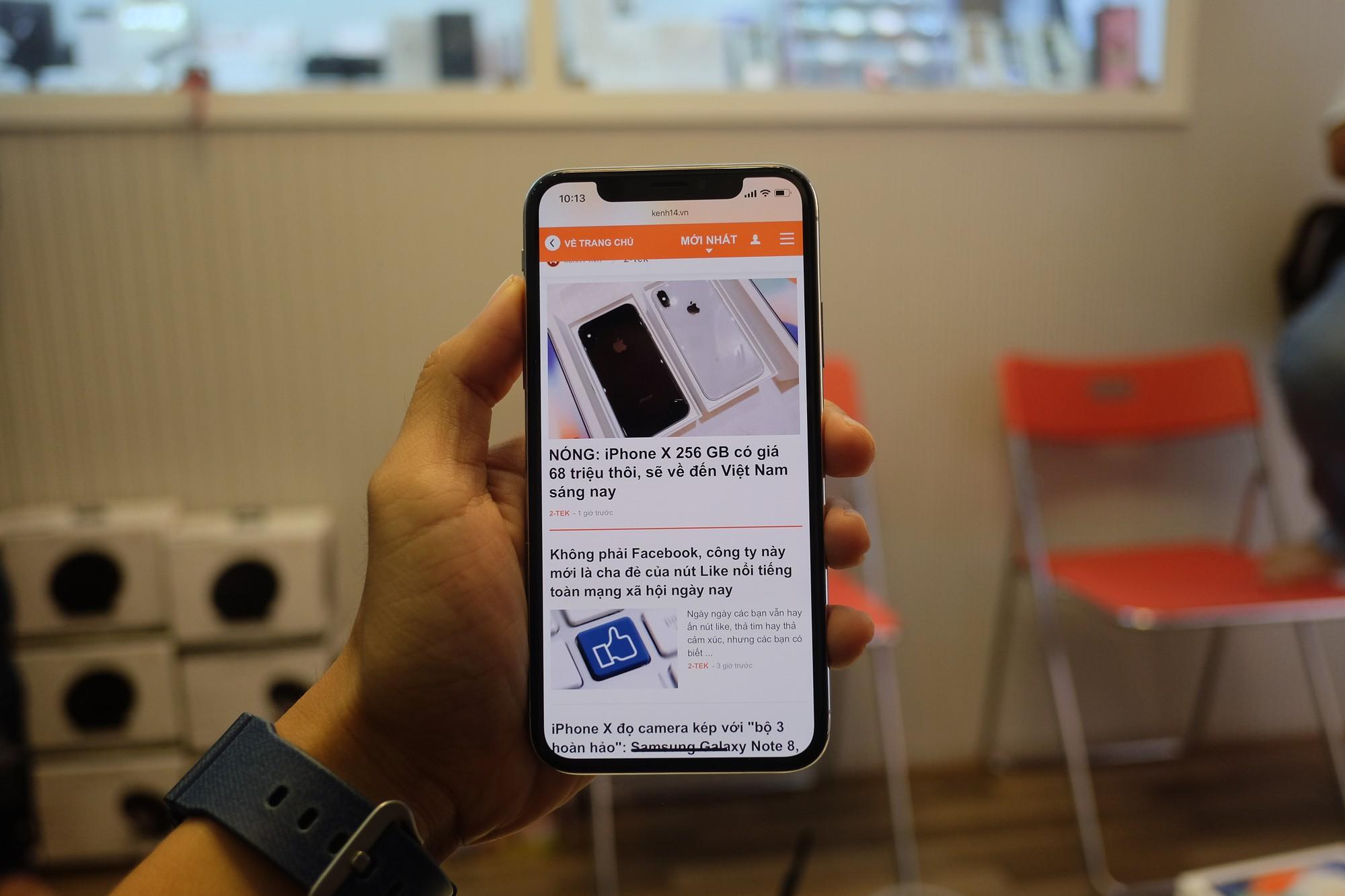 iPhone X giá 68 triệu đây rồi: Màn hình đẹp sắc sảo, thiết kế toàn diện, thao tác hoàn toàn mới 20