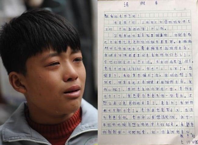 Cảm động cậu bé 12 tuổi bỏ học đi dỡ lạc thuê kiếm tiền chữa bệnh cho mẹ 3