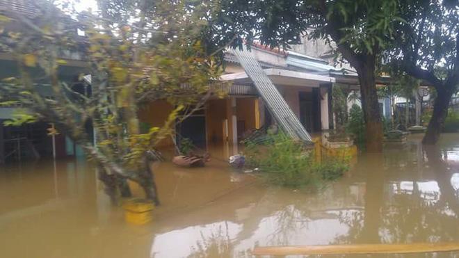 Thủy điện xả lũ, Quảng Nam, Đà Nẵng trắng xóa nước lũ 6