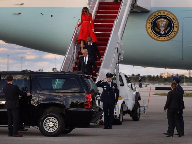 Hình ảnh Khám phá ba lớp rào an ninh bảo vệ Tổng thống Trump công du châu Á số 1