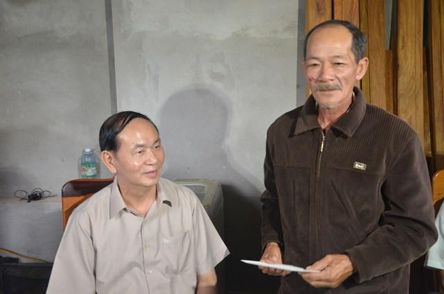 Chủ tịch nước Trần Đại Quang vào thăm người dân vùng rốn lũ Đà Nẵng 5