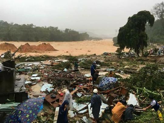 106 người chết, 25 người mất tích do mưa bão số 12 1
