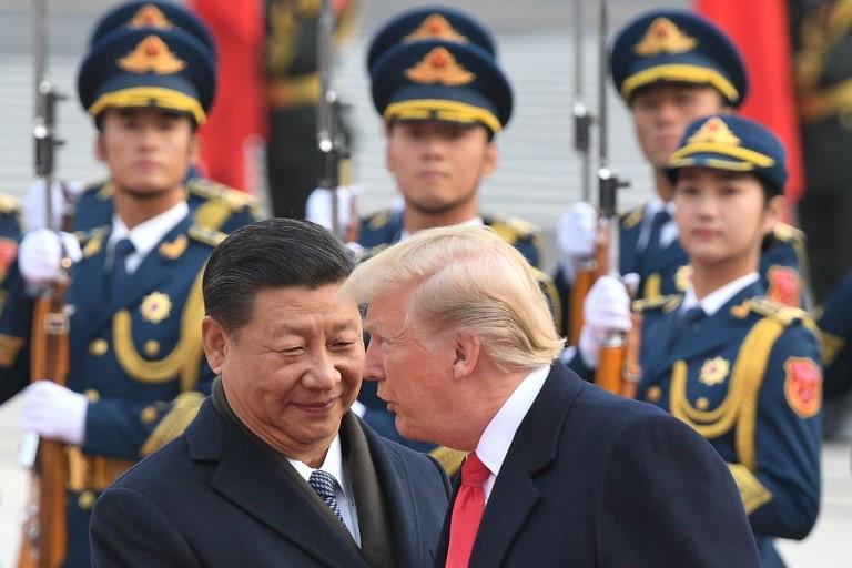 Tổng thống Mỹ Donald Trump được Trung Quốc đón tiếp bằng nghi lễ long trọng nhất 5
