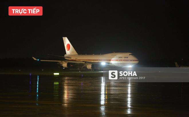 Chuyên cơ Air Force One Nhật Bản đưa thủ tướng Shinzo Abe đến Đà Nẵng tham dự APEC 1