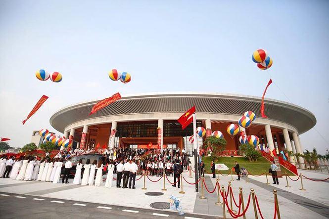 Tổng Bí thư, Chủ tịch Trung Quốc Tập Cận Bình dự lễ khánh thành Cung hữu nghị Việt - Trung 5