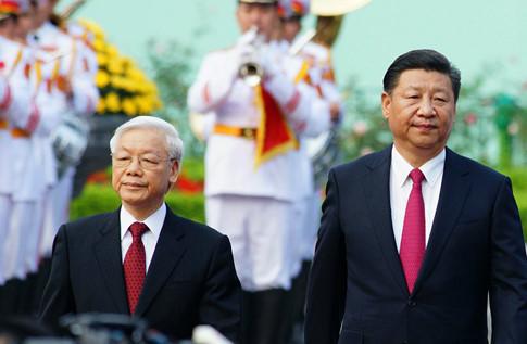 Bắn 21 phát đại bác đón Tổng bí thư, Chủ tịch Trung Quốc Tập Cận Bình 2