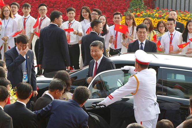 Tổng Bí thư, Chủ tịch Trung Quốc Tập Cận Bình dự lễ khánh thành Cung hữu nghị Việt - Trung 1