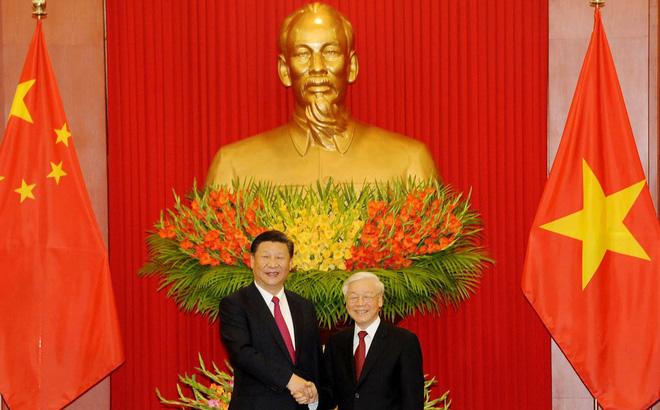 Tổng Bí thư Nguyễn Phú Trọng hội đàm với Tổng Bí thư, Chủ tịch Trung Quốc Tập Cận Bình 1