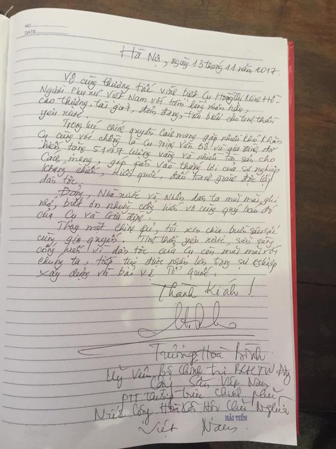 Tang lễ cụ Hoàng Thị Minh Hồ: Trưởng nam công khai di nguyện của cụ bà trước khi mất 12