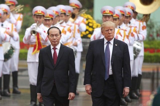 Nhà Trắng thông báo kết quả chuyến thăm Việt Nam của Tổng thống Trump 1