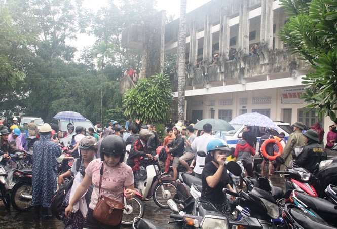 Triệu tập nam sinh viên phao tin bịa đặt vỡ đập thủy điện Sông Tranh 2 1