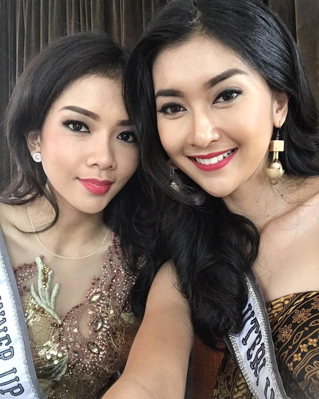 Nhan sắc xinh đẹp của đại diện Indonesia, cô gái đánh bại hơn 70 đối thủ vừa đăng quang Miss International 2017 18