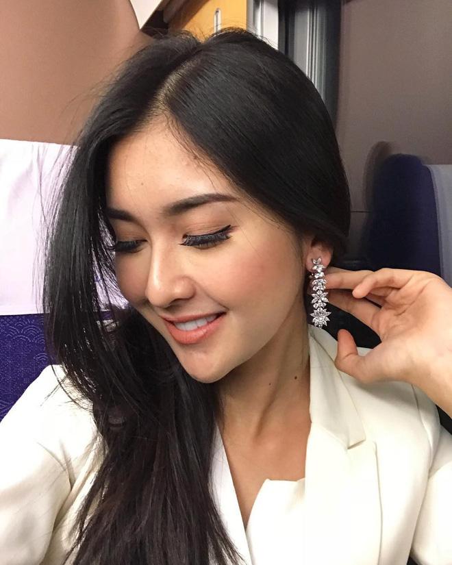 Nhan sắc xinh đẹp của đại diện Indonesia, cô gái đánh bại hơn 70 đối thủ vừa đăng quang Miss International 2017 14