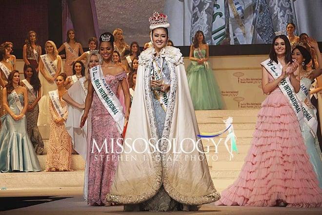 Nhan sắc xinh đẹp của đại diện Indonesia, cô gái đánh bại hơn 70 đối thủ vừa đăng quang Miss International 2017 4