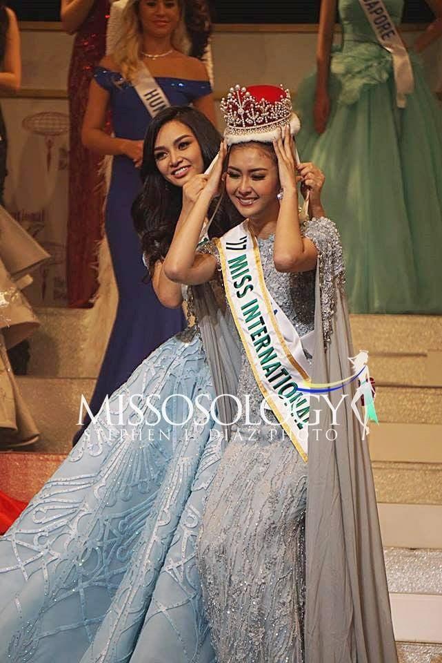 Nhan sắc xinh đẹp của đại diện Indonesia, cô gái đánh bại hơn 70 đối thủ đăng quang Miss International 2017 - Ảnh 1.