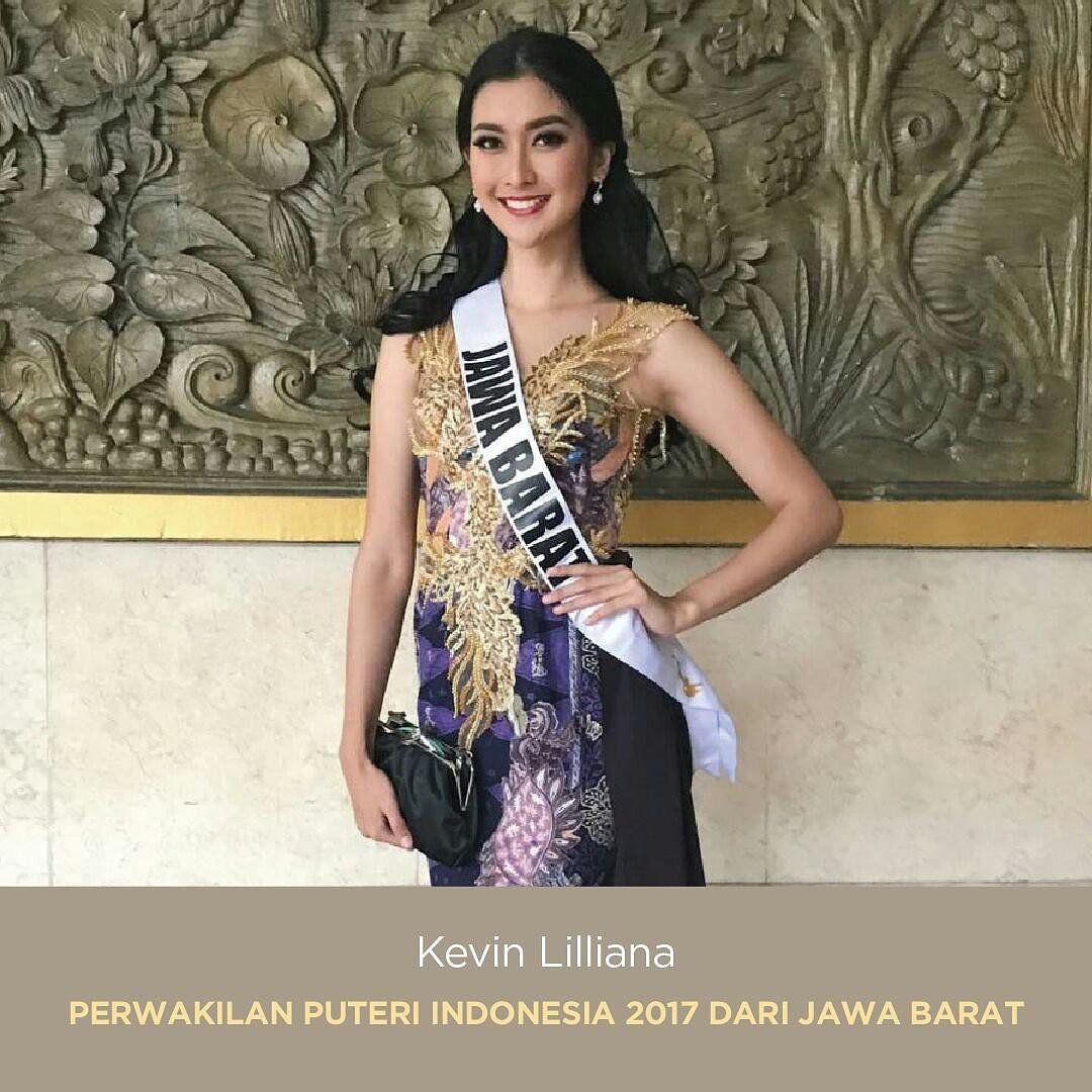 Nhan sắc xinh đẹp của đại diện Indonesia, cô gái đánh bại hơn 70 đối thủ đăng quang Miss International 2017 - Ảnh 6.
