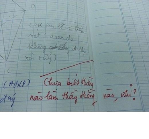 Hình ảnh Những lời phê bá đạo của thầy cô khiến học trò té ngửa số 4