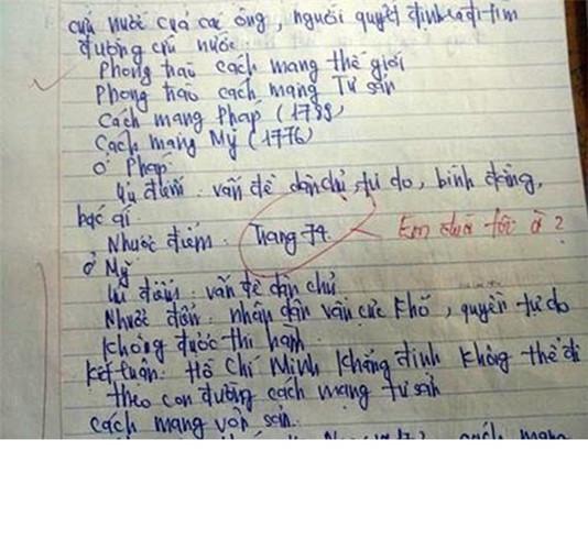 Hình ảnh Những lời phê bá đạo của thầy cô khiến học trò té ngửa số 5