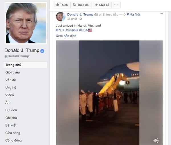 Hình ảnh Sự thật bất ngờ về những ngày Tổng thống Donald Trump ở Việt Nam dự APEC số 3