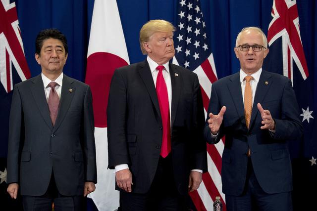 Hình ảnh Trung Quốc sốt vó khi Trump bắt tay 3 đồng minh khu vực, thay đổi trọng tâm chiến lược số 1